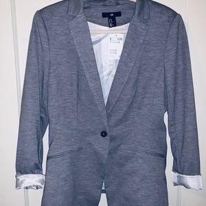 NEW! H&M. Grey blazer.